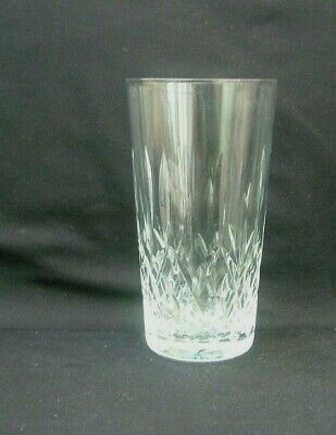Set of 5 glass crystal tumblers with diamond decoration Lotus Flower China