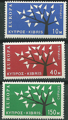 CYPRUS CYPRUS EUROPE cept 1962 Without Stamp hinges MNH