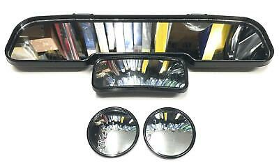 Driving Test Intructor Extended Interior Mirror Clip On and 2 Blind Spot Mirrors
