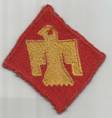 Theater Made Off Uniform WW 2 US Army 45th Infantry Division Patch Inv# H746