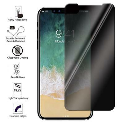 Anti-spy Privacy 3D 9H Premium Tempered Glass Screen Protector For IPhone X / 10
