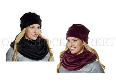 New! Women's 32 Degrees Heat Infinity Scarf & Beanie Set! Ultra Soft! Variety!