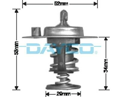 Thermostat for Toyota Hiace May 1977 to Dec 1982 2.0L RH32 18R DT27G