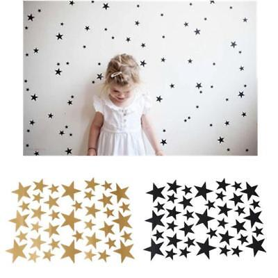 Mixed size Stars Wall Stickers Kid Decal Art Nursery Bedroom Vinyl Decoration CB