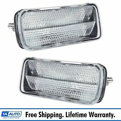 Anzo Set of 2 Parking Lights Lamps Driver /& Passenger Side New for 511037