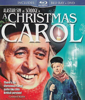 A Christmas Carol (Blu-ray / DVD Combo) NEW!