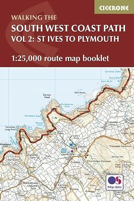South West Coast Path Map Booklet St Ive, Dillon, Paddy, 9781852849375