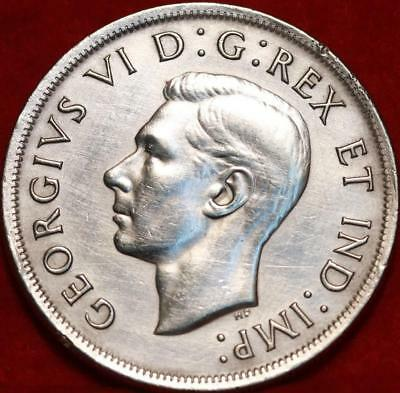 1939 Silver Canada $1 Dollar Foreign Coin Free S/H