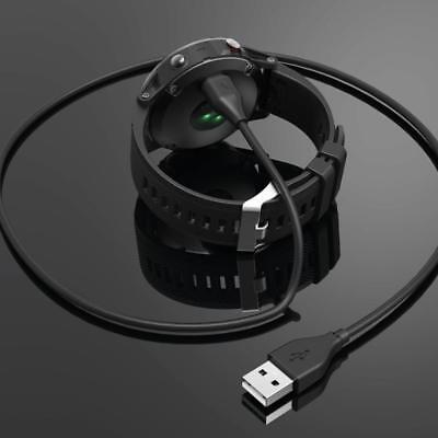 USB Charging Data Cradle Dock Cable Charger For Garmin Fenix 5 5S 5X GPS Watch