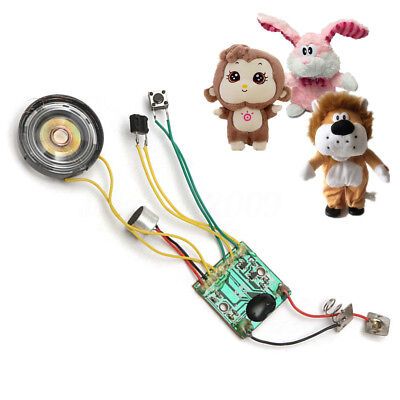 10 Seconds Sound Voice Recordable Module Music Recorder Chip For Record Doll Toy