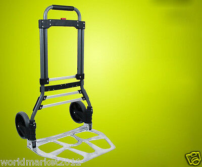 New Convenient Simple Durable Two Wheels Collapsible Shopping Luggage Trolleys