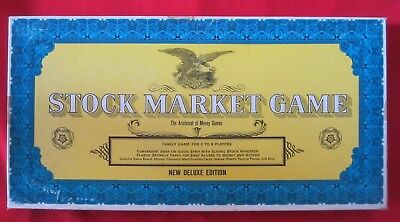 ©1968 Vintage John Sands~Stock Market Board Game~Western Publishing-Complete-Vgc