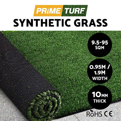 Primeturf 10-60 SQM Synthetic Artificial Grass Turf Plastic Olive Plant Lawn