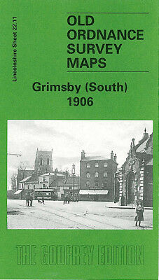 Old Ordnance Survey Map Grimsby South 1906 East Gate Weelsby Road Cromwell Road