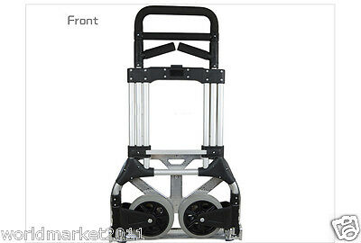 New Convenient Durable Two Wheels Large Collapsible Shopping Luggage Trolleys