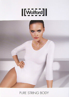 *SALE* - Wolford - PURE STRING Body - black - NEW