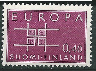 FINLAND EUROPE cept 1963 Without Stamp hinges MNH