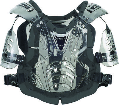XP2 Adult STONE SHIELD MOTOCROSS BODY ARMOUR Armor Roost deflector Translucent