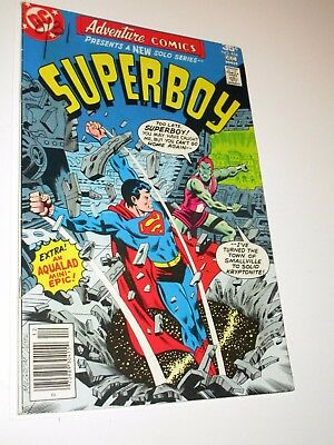 Adventure Comics Superboy #454 (Nov-Dec 1977, DC) Very Fine+