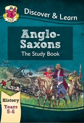 KS2 Discover & Learn: History - Anglo-Saxons Study Book, Year 5 &...
