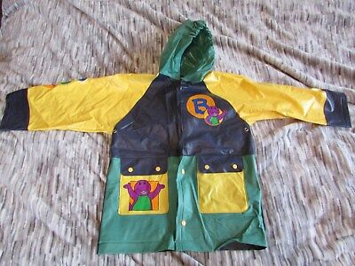 Barney Childs Rain Coat Size  4T Vinyl