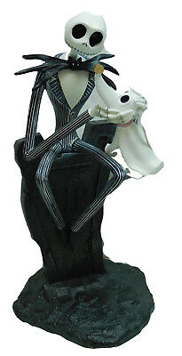 Disney Nightmare before Christmas Jack Skellington Zero  Figur Tim Burton