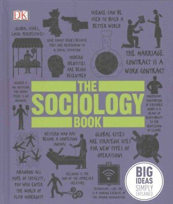 The Sociology Book Big Ideas Simply Explained by DK 9780241182291