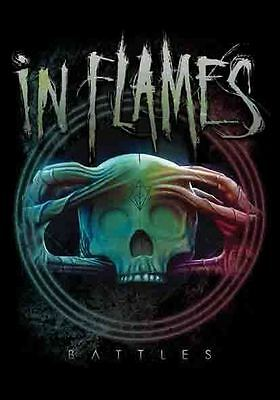 """In Flames Flagge / Fahne """"battles"""" Poster Flag Posterflag"""