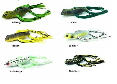 Jackall Grinch Topwater Frog Swimbait Choice of Colors