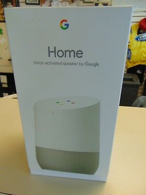 Google Home - White Slate Google Personal Assistant Quick Shipping Ready To Use