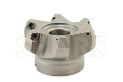 "Stop Throwing Away Used APKT 1003 2-1/2"" 75° Indexable Face Mill New $175.93 Off"