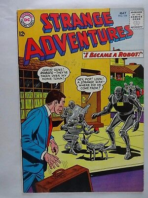 Strange Adventures #164   High Grade VF+   I Became A Robot   Silver