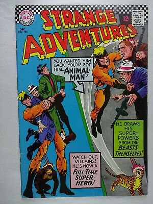 Strange Adventures #195   2nd App. as Animal Man   Roger Denning   Silver