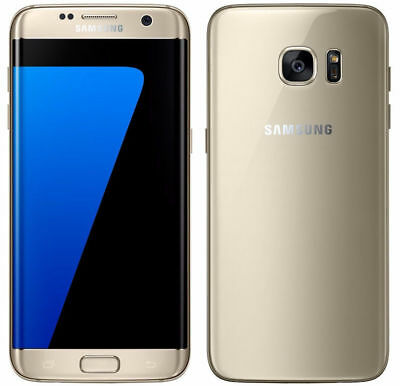 New Samsung Galaxy S7 Edge G935A  AT&T Unlocked 32GB Android Smartphone Gold
