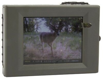 """MOULTRIE Hand Held Game Trail Camera Digital Picture Viewer w/ 2.8"""" LCD 