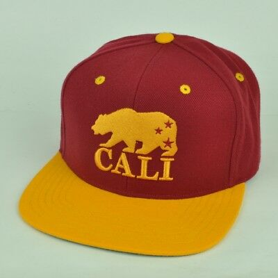 3fbf914bd39bb California USA City American Needle Burgundy Snapback Adjustable Hat Flat  Bill