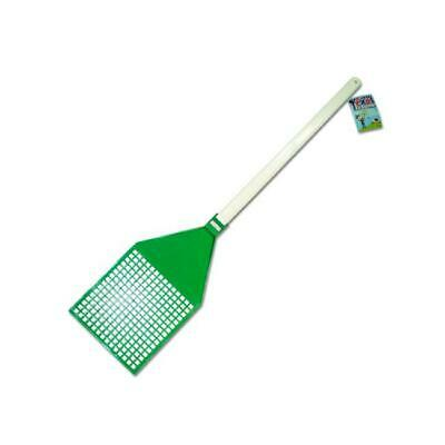 Bulk Buys GM100-24 6 1/2  x 11  Plastic Jumbo Texas Fly Swatter - Pack of 24