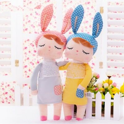 Kids Toys Rabbit Dolls Cartoon Birthday Christmas Stuffed Plush Metoo Angela