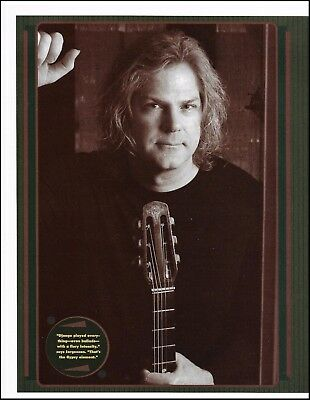 John Jorgenson with Gitane Acoustic Guitar 8 x 11 pinup photo