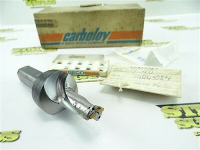 """Carboloy Usa Indexable Coolant Thru Drill 3/4"""" Dia Sd50-0750-150-1000R"""