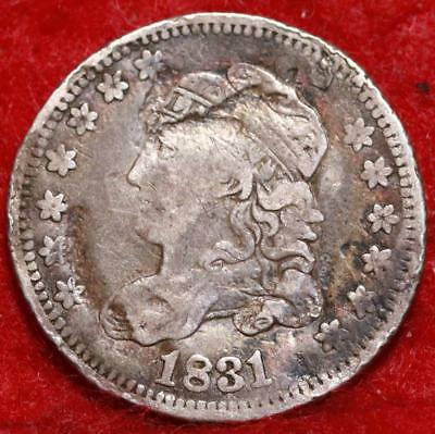 1831 Philadelphia Mint Silver Capped Bust Half Dime Free Shipping