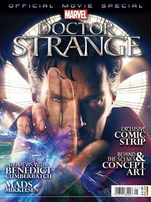 DOCTOR STRANGE OFFICIAL MOVIE MAGAZINE SPECIAL, New, Marvel Comics (2016)