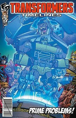 TRANSFORMERS TIMELINES #11 CYBERTRONS MOST WANTED, New, IDW (2015)
