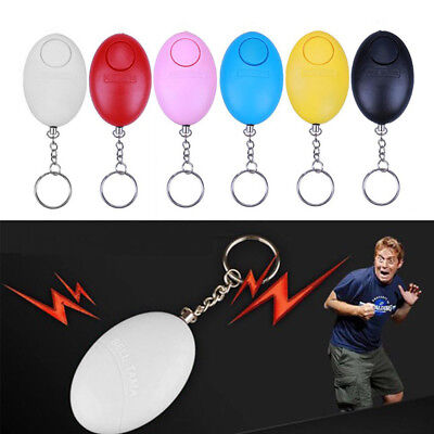 Survival Keychain Whistle Emergency Personal egg Alarm Siren Song Self Defense