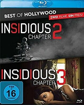 Insidious: Chapter 2 / Insidious: Chapter 3 Blu-ray NEU OVP 2 Filme Pack