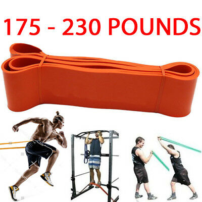 8.3Cm Resistance Exercise Heavy Duty Bands Tube Home Gym Fitness Natural Latex