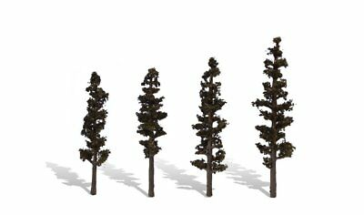 NEW Woodland Scenics TR3561 Standing Timber Trees (4) *SHIPS FREE*