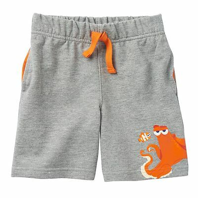 """Finding Dory, Nemo & Hank""""  Boys Gray French Terry Shorts SIZE 4T"""
