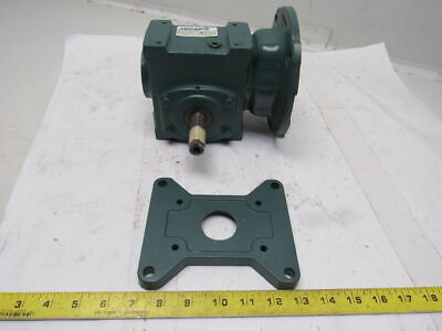 Dodge Tigear Ratio 15Q10L56 Right Angle Worm Gear Gearbox Speed Reducer  10:1