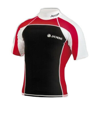 Lycra Rash Guard Neoprene Red Jobe - taille S - wake - paddle - jetski - PWC